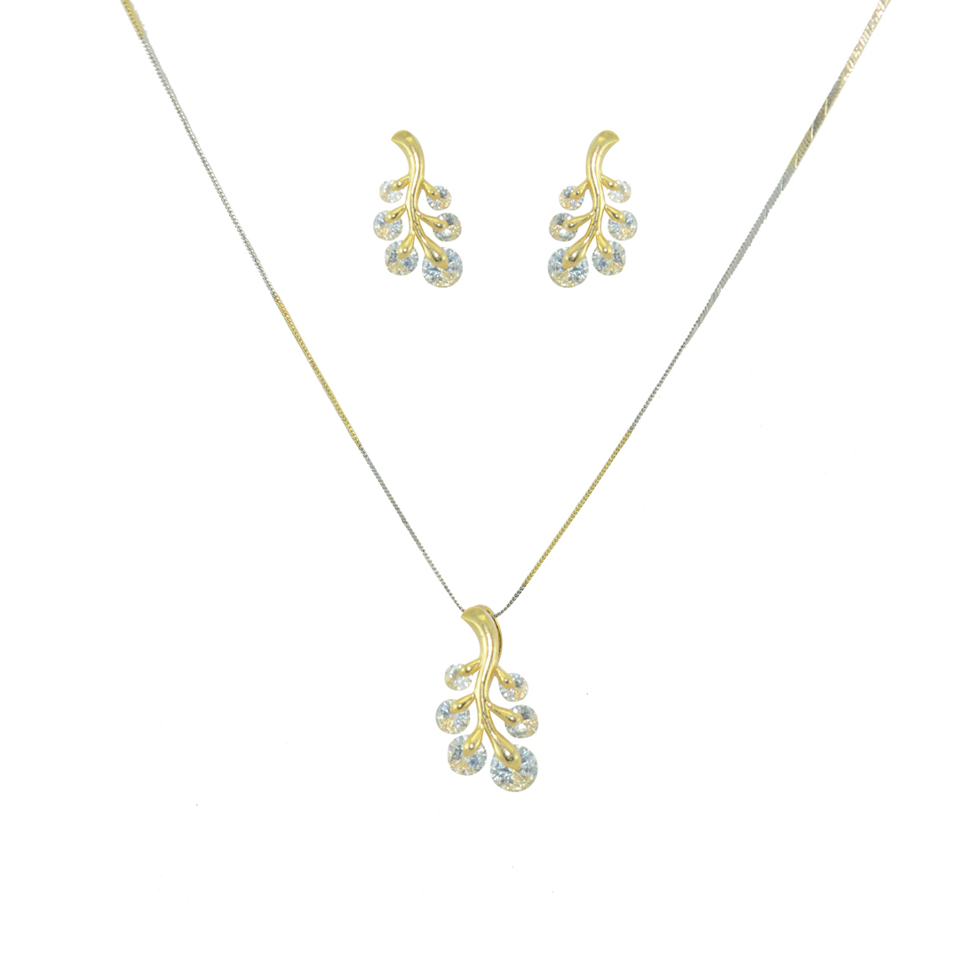 Designer Gold Plated Generic Pendant Set